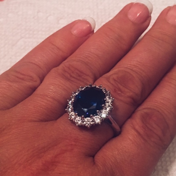 Jewelry New Princess Diana Sterling Silver Engagement Ring Poshmark